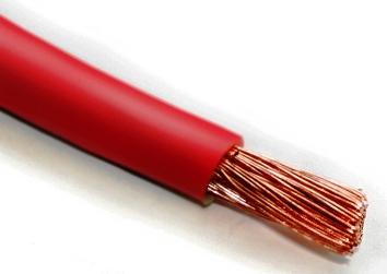 Провод ПВ-3-1*10-провод многожильный медный (красный)