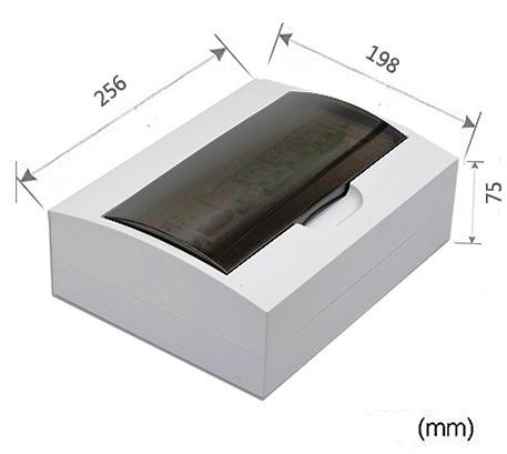 Бокс электрический TONGOU-распределительный щит на 12 модулей