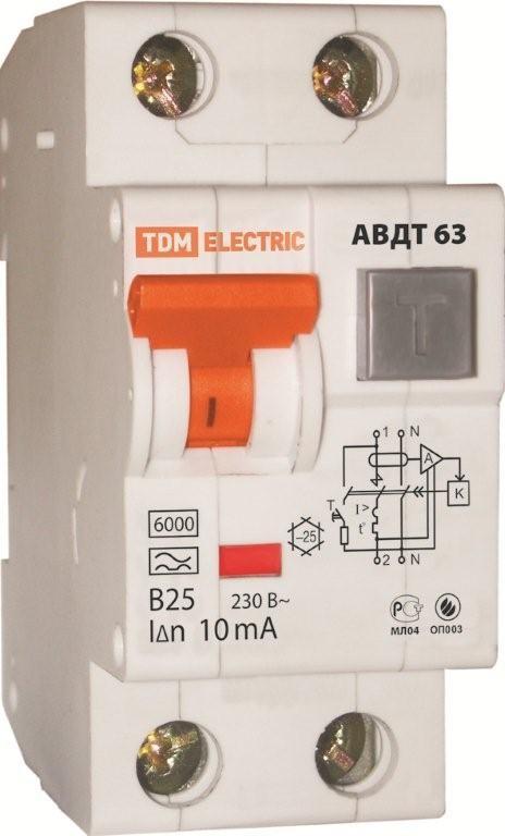 Автоматический дифференциальный автомат АВДТ 63
