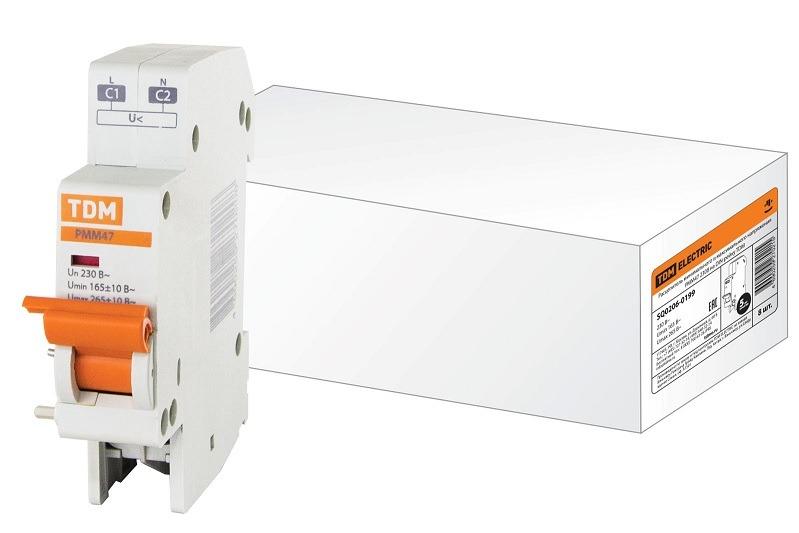 Расцепителей минимального и максимального напряжения РММ47 230 В